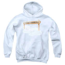Image for It's a Wonderful Life Youth Hoodie - Beford Falls