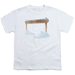 Image for It's a Wonderful Life Youth T-Shirt - Beford Falls
