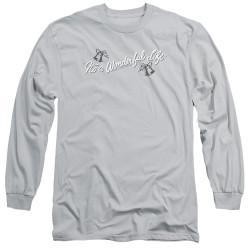 Image for It's a Wonderful Life Long Sleeve Shirt - Logo