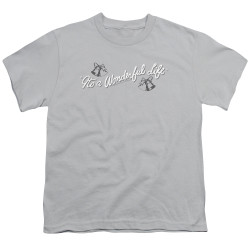 Image for It's a Wonderful Life Youth T-Shirt - Logo