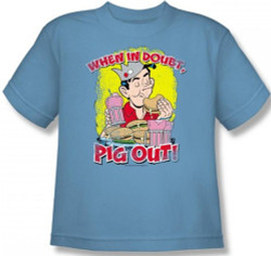 Image for Archie Comics Youth T-Shirt - Pig Out