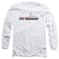 Image for Pet Sematary Long Sleeve Shirt - Logo