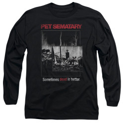 Image for Pet Sematary Long Sleeve Shirt - Cat Poster