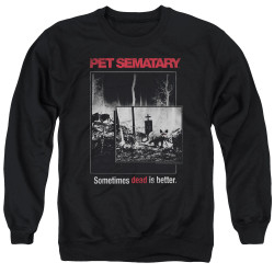 Image for Pet Sematary Crewneck - Cat Poster