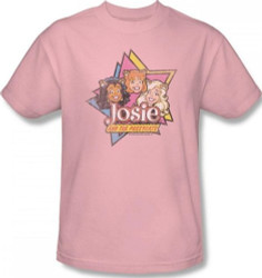 Image for Josie and the Pussycats Stars T-Shirt