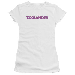 Image for Zoolander Juniors Premium Bella T-Shirt - Logo