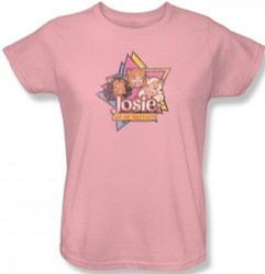 Image for Josie and the Pussycats Stars Woman's T-Shirt