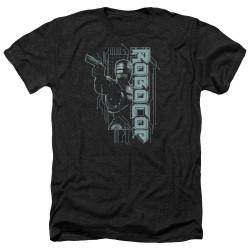Image for Robocop Heather T-Shirt - Murphy Split