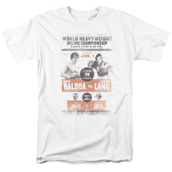 Image for Rocky T-Shirt - Rocky III Clubber Poster
