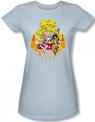 Image for Josie and the Pussycats Groovy Rock & Roll Girls Shirt