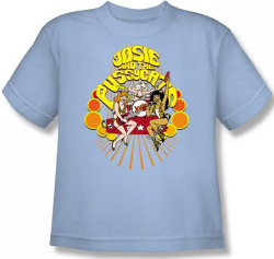 Image for Josie and the Pussycats Groovy Rock & Roll Youth T-Shirt