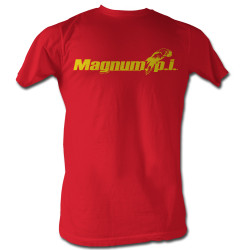 Image for Magnum PI T-Shirt - Beach Logo