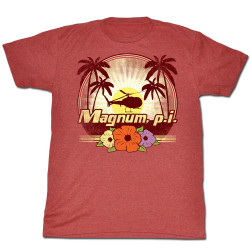 Image for Magnum PI T-Shirt - Flowers
