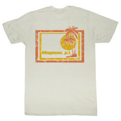 Image for Magnum PI T-Shirt - Wrecked