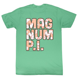 Image for Magnum PI T-Shirt - Floral