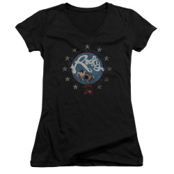 Image for Rocky Girls V Neck - Bloodiest Bicentennial