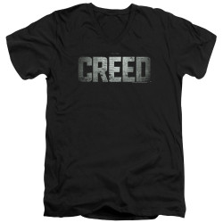 Image for Creed V Neck T-Shirt - Logo