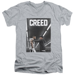 Image for Creed V Neck T-Shirt - Poster