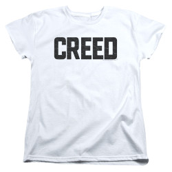 Image for Creed Womans T-Shirt - Cracked Logo