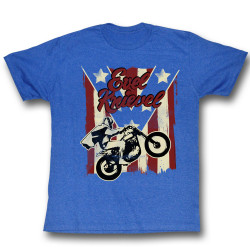 Image for Evel Knievel T-Shirt - Star Spangled
