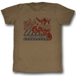 Image for Evel Knievel T-Shirt - Dare