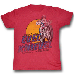 Image for Evel Knievel T-Shirt - Danger Zone