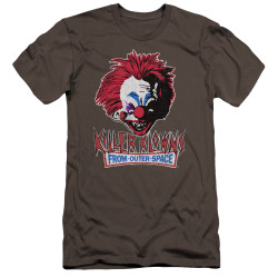 Image for Killer Klowns From Outer Space Premium Canvas Premium Shirt - Rough Clown