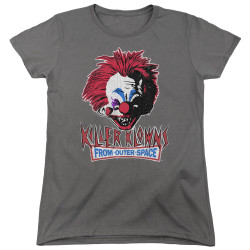 Image for Killer Klowns From Outer Space Womans T-Shirt - Rough Clown