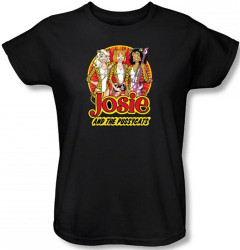 Image for Josie and the Pussycats Power Trio Woman's T-Shirt