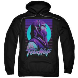 Image for Teen Wolf Hoodie - Headphone Purple Tone