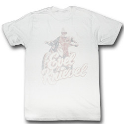 Image for Evel Knievel T-Shirt - Faded