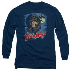 Image for Teen Wolf Long Sleeve Shirt - Wolf Moon
