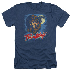 Image for Teen Wolf Heather T-Shirt - Wolf Moon