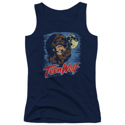Image for Teen Wolf Girls Tank Top - Wolf Moon