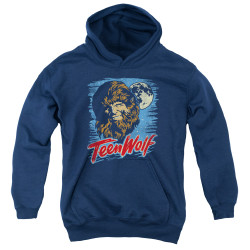 Image for Teen Wolf Youth Hoodie - Wolf Moon