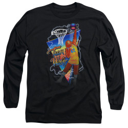 Image for Teen Wolf Long Sleeve Shirt - Electric Wolf