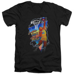 Image for Teen Wolf V Neck T-Shirt - Electric Wolf