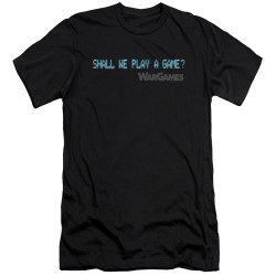 Image for Wargames Premium Canvas Premium Shirt - Shall We Play a Game
