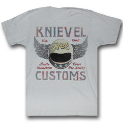 Image for Evel Knievel T-Shirt - Evel Customs