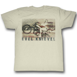 Image for Evel Knievel T-Shirt - Ameriknievel