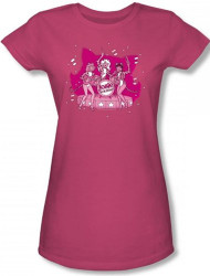 Image for Josie and the Pussycats Kitty Band Girls Shirt
