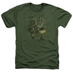 Image for MirrorMask Heather T-Shirt - Don't Let Them