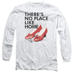 Image for The Wizard of Oz Long Sleeve Shirt - No Place Like Home