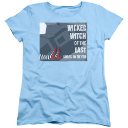 Image for The Wizard of Oz Womans T-Shirt - Shoes to Die For