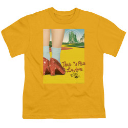 Image for The Wizard of Oz Youth T-Shirt - The Way Home