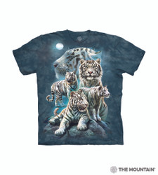 Image for The Mountain T-Shirt - Night Tiger Collage
