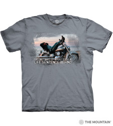 Image for The Mountain T-Shirt - Biker for Life