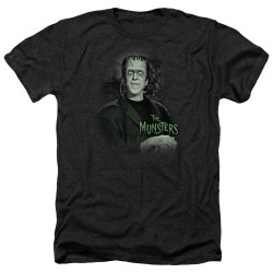 Image for The Munsters Heather T-Shirt - Man of the House