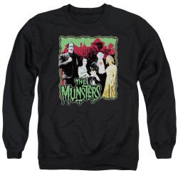 Image for The Munsters Crewneck - Normal Family