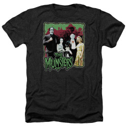 Image for The Munsters Heather T-Shirt - Normal Family